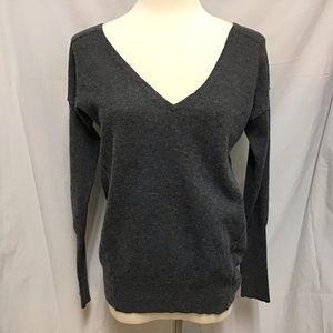 Athleta Cashmere V-Neck Sweater (S)